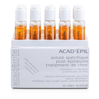 Academie AcadEpil Specific Post Depilatory Solution Shock Treatment 10x15ml05oz