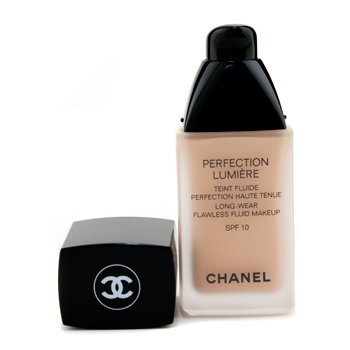 Chanel Perfection Lumiere Long Wear Flawless Fluid Make Up SPF 10 - # 42 Beige Rose  30ml/1oz