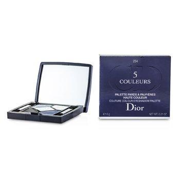 Christian Dior 5 Color Couture Colour Eyeshadow Palette - No. 254 Bleu De Paris 6g/0.21oz