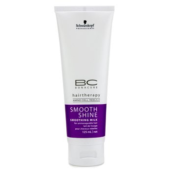 SchwarzkopfBC Smooth Shine Smoothing Milk (For Unmanageable Hair) 125ml/4.2oz