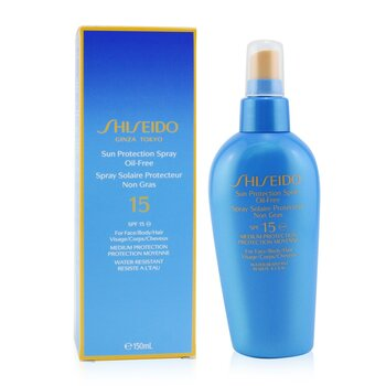 Shiseido Sun Protection Spray Oil Free SPF15  150ml/5oz