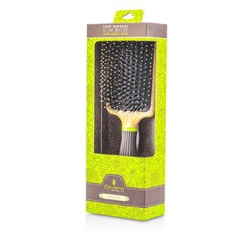 Macadamia Natural Oil Boar Paddle Brush  1pc