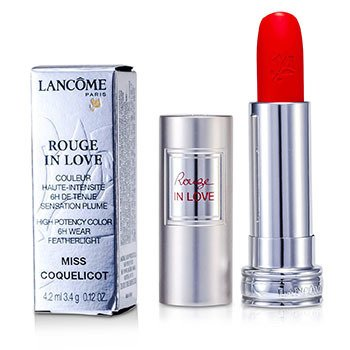 Lancome Son Rouge In Love - # 146B Miss Coquelicot  4.2ml/0.12oz