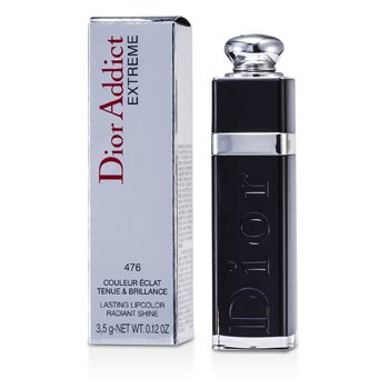 Christian Dior Dior Addict Be Iconic Extreme Lasting Lipcolor Radiant Shine Lipstick - # 476 Plaza 3.5g/0.12oz