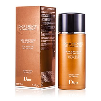 Christian Dior Dior Bronze Resplandor Aceite Natural Auto-Bronceador  100ml/3.3oz