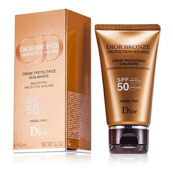 Christian Dior Dior Bronze Cuidado Solar Protector Embellecedor SPF 50 Para Rostro  50ml/1.7oz