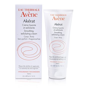 AveneAkerat Smoothing Exfoliating Cream (For Extremely Dry and Rough Skin) 200ml/7.05oz