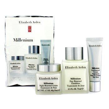 Elizabeth ArdenMillenium Set: Day Renewal Emulsion + Night Renewal Cream + Eye Renewal Cream (Box Slightly Damaged) 3pcs