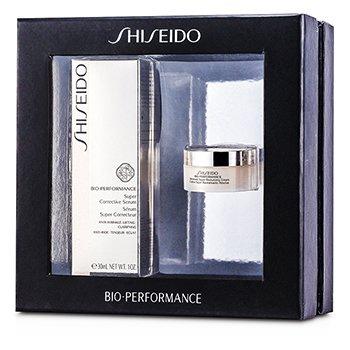 Bio Performance - Cuidado NocheBio Performance Set: Serum Corrector 30ml + Crema Revitalizante 18ml 2pcs