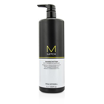 Paul Mitchell Mitch Double Hitter Sulfate-Free 2-in-1 Shampoo & Conditioner  1000ml/33.8oz