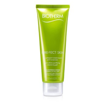 BiothermGel de Limpeza Pure.Fect Skin Anti-Shine Purifying Cleansing Gel  (Pele Mista a Oleosa) 125ml/4.22oz