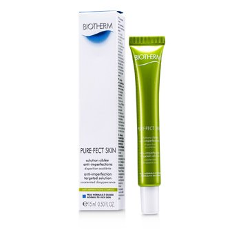 BiothermPure.Fect Skin Anti-Imperfection Targeted Solution (Combination to Oily Skin) 15ml/0.5oz