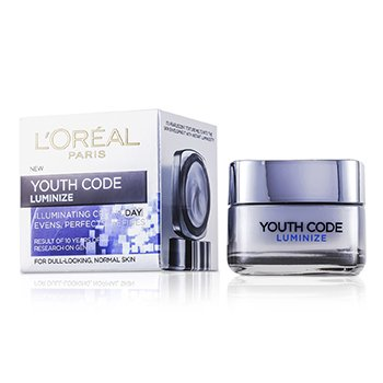 L'OrealDermo-Expertise Youth Code Luminize Moisturising Day Cream 50ml/1.7oz