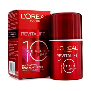 L'Oreal Dermo-Expertise RevitaLift Repair 10: Multi-Active Daily Moisturiser SPF20  50ml/1.7oz