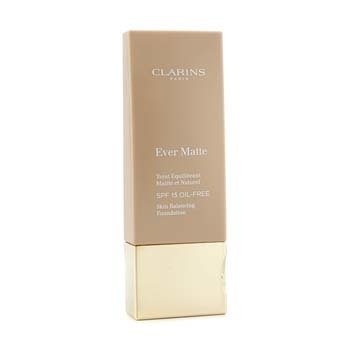 Clarins Ever Matte Skin Balancing Oil Free Foundation SPF 15 - # 112 Amber 30ml/1.1oz