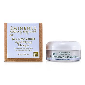 Eminence Key Lime Vanilla Age-Defying Masque (Normal to Dry Skin)  60ml/2oz