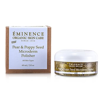 Eminence Pear & Poppy Seed Exfoliante Microderm  60ml/2oz