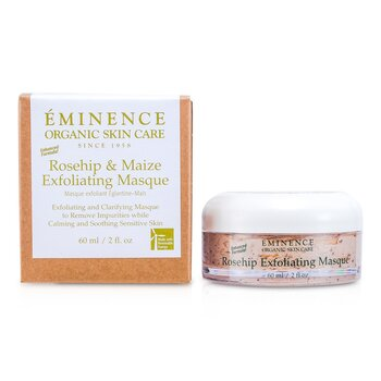 EminenceRosehip & Maize Exfoliating Masque - Enchanced Formula (Sensitive Skin) 60ml/2oz