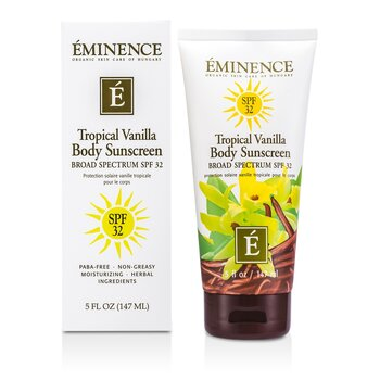 EminenceTropical Vanilla Body SPF 32 147ml/5oz