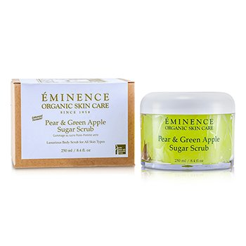 Eminence Pear & Green Apple Sugar Scrub  250ml/8.4oz