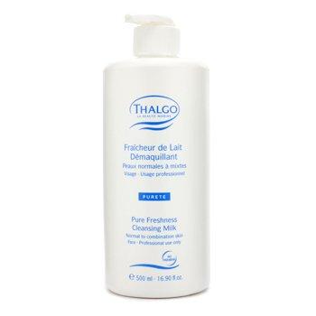Thalgo Leche desmaquilladora Frescura Pura (Piel Normal/Mixta)  (Tama�o Sal�n)  500ml16.90oz