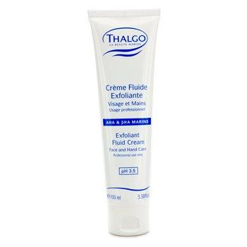 ThalgoExfoliant Fluid Cream with  AHA & BHA (Face & Hand Care) (Salon Size) 100ml/3.38oz