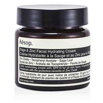 AesopSage & Zinc Crema hidratante facial SPF15 60ml/2.45oz