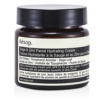 AesopSage & Zinc Facial Hydrating Cream SPF15 60ml/2.45oz