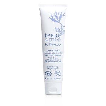 Thalgo Terre & Mer Vital Cream with Organic Olive Leaf  (Salon Size)  100ml/3.38oz
