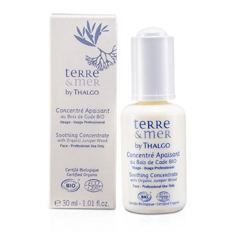 Terre & Mer - Night CareTerre & Mer Soothing Concentrate With Organic Juniper Wood (Salon Size) 30ml/1oz
