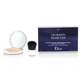 Christian DiorDiorskin Nude Tan Nude Glow Sun Powder (With Kabuki Brush)10g/0.35oz
