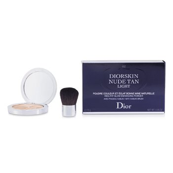 Christian DiorDiorskin Nude Tan Healthy Glow Enhancing Powder (With Kabuki Brush)10g/0.35oz