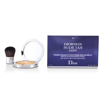 PowderDiorskin Nude Tan Healthy Glow Enhancing Powder (With Kabuki Brush) - # 003 Zenith 10g/0.35oz