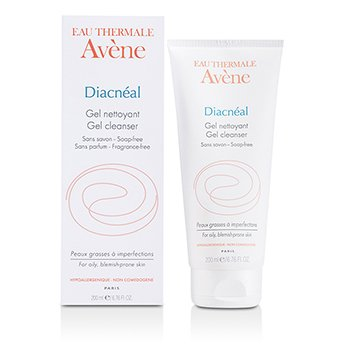 AveneDiacneal Soap Free Gel Cleanser (For Oily, Blemish-Prone Skin) 200ml/6.76oz