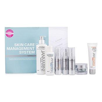 Jan MariniSkin Care Management System Plus: Cleanser + Gentle Cleanser + Face Protectant + Serum + 2x Lotion + Cream (Normal/Combination Skin) 7pcs