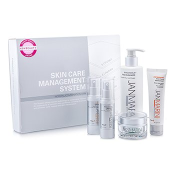 Jan MariniSkin Care Management System: Cleanser + Face Protectant + Face Serum + Face Lotion + Face Cream (Normal/Combination Skin) 5pcs