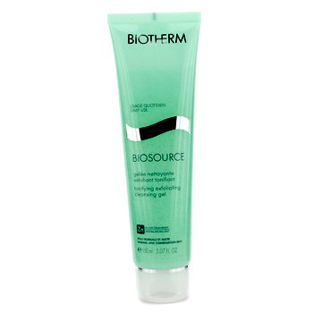 BiothermBiosource Gel Limpiador Exfoliante Tonificante (Piel Normal y Mixta) 150ml/5.07oz
