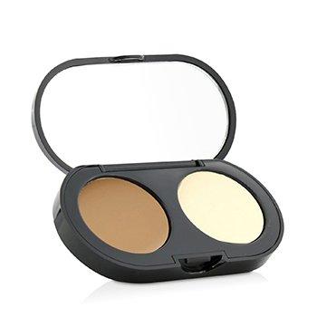 Bobbi Brown New Creamy Concealer Kit - Perangkat Konsiler - Golden Creamy Konsiler + Pale Yellow Sheer Finish Bedak Padat  3.1g/0.11oz
