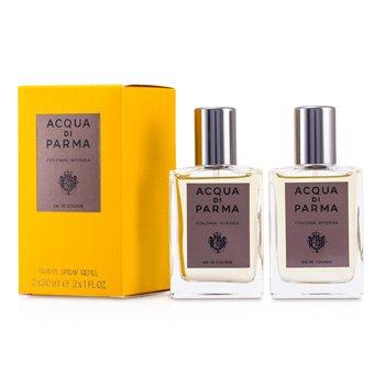 Acqua Di Parma Acqua di Parma Colonia Intensa Eau De Cologne Spray Repuestos de Viaje  2x30ml/1oz