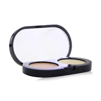 Bobbi Brown New Creamy Concealer Kit - Natural Creamy Concealer + Pale Yellow Sheer Finish Pressed Powder 3.1g/1.1oz
