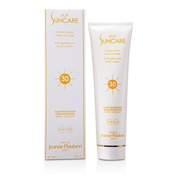 Image of Methode Jeanne Piaubert AntiAging Sun Body Cream SPF30 150ml5oz