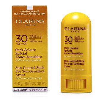 Clarins Солнцезащитный Стик для Чувствительной Кожи SPF 30 8g/0.28oz