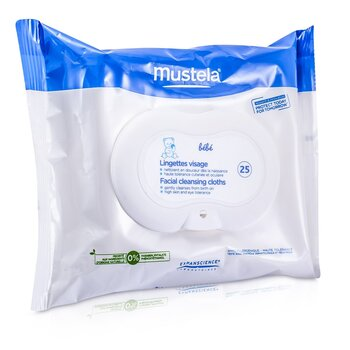 MustelaFacial Cleansing Cloths 25cloths