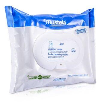 Facial Cleansing Cloths Mustela Facial Cleansing Cloths 25cloths