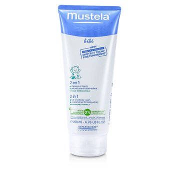 2 In 1 Hair and Body Wash Mustela 2 In 1 Hair and Body Wash 200ml/6.76oz