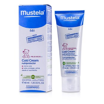 MustelaCold Cream with Nutri-protective 40ml/1.3oz