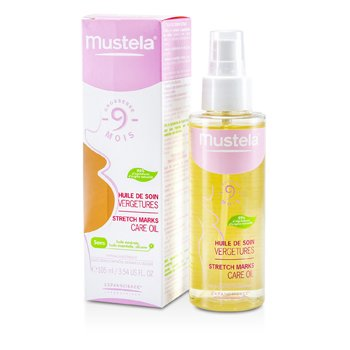 Mustela Stretch Marks Care Oil 105ml/3.54oz