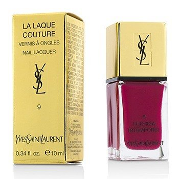 Yves Saint Laurent La Laque Couture Nail Lacquer - # 9 Fuchsia Intemporel  10ml/0.34oz