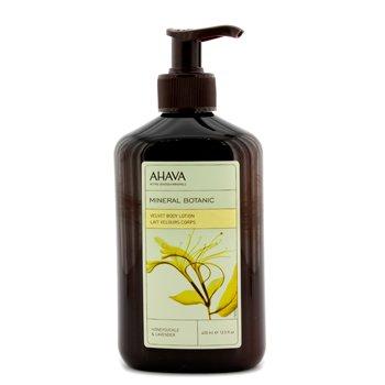 AhavaMineral Botanic Velvet Body Lotion - Honeysuckle & Lavender 400ml/13.5oz