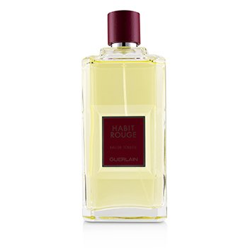 Guerlain Habit Rouge Eau De Toilette Spray  200ml/6.8oz